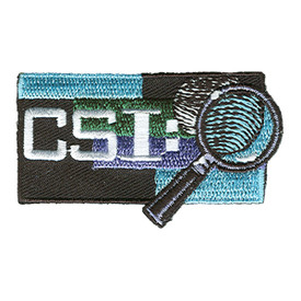 S-1171 CSI - Magnifying Glass Patch