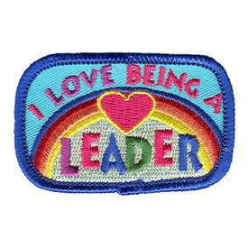 S-1173 I Love Being A Leader Patch