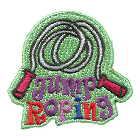 S-1177 Jump Roping Patch