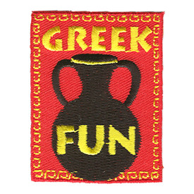 S-1189 Greek Fun Patch
