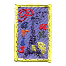 S-1191 Paris Fun Patch