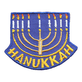S-1202 Hanukkah Patch