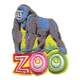 S-1205 Zoo (Gorilla) Patch