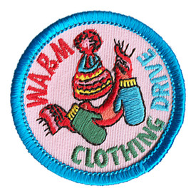 S-1216 Warm Clothing Drive Patch