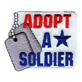 S-1217 Adopt A Soldier Patch