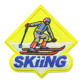 S-1222 Skiing Patch