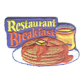 S-1227 Restaurant Breakfast Patch
