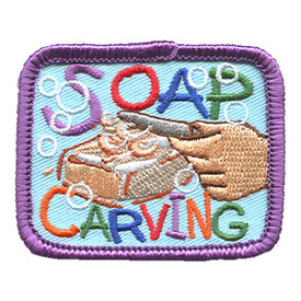 S-1237 Soap Carving Patch
