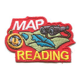 S-1238 Map Reading Patch