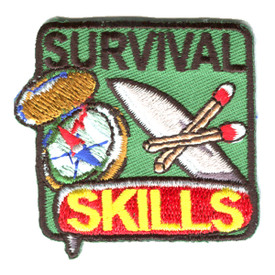 S-1249 Survival Skills Patch