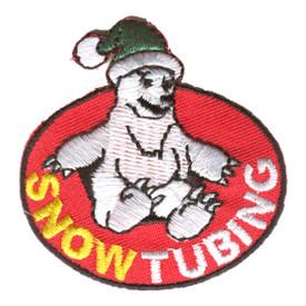 S-1250 Snow Tubing (Polar Bear) Patch