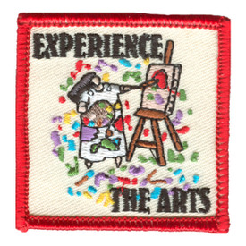 S-1257 Experience The Arts Patch