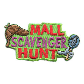 S-1260 Mall Scavenger Hunt Patch