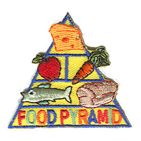 S-1263 Food Pyramid Patch