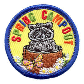 S-1273 Spring Campout (Raccoon) Patch