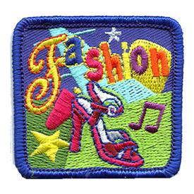 S-1276 Fashion (Shoe & Stars) Patch