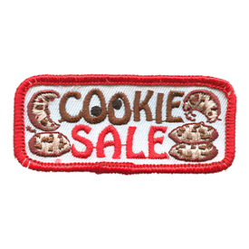 S-1282 Cookie Sale Patch