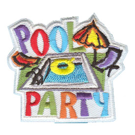 S-1290 Pool Party Patch