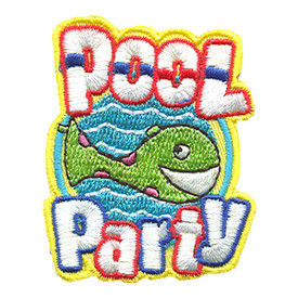S-1292 Pool Party Patch