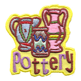 S-1293 Pottery - 3 Vases Patch