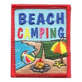 S-1294 Beach Camping Patch