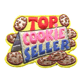 S-1305 Top Cookie Seller Patch