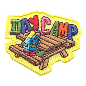 S-1308 Day Camp (Picnic Table) Patch