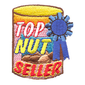 S-1309 Top Nut Seller Patch