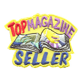 S-1310 Top Magazine Seller Patch