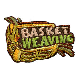 S-1358 Basket Weaving Patch