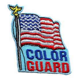 S-1359 Color Guard Patch