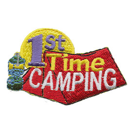 S-1368 First Time Camping Patch