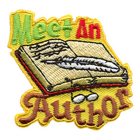 S-1372 Meet An Author Patch
