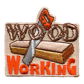 S-1373 Wood Working - Saw Patch