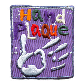 S-1379 Hand Plaque Patch