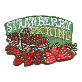 S-1383 Strawberry Picking Patch