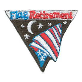 S-1388 Flag Retirement Patch