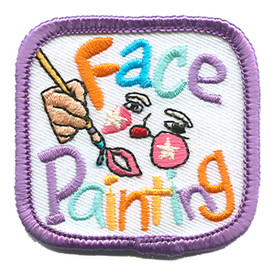 S-1395 Face Painting (Face) Patch