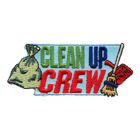 S-1396 Clean Up Crew Patch