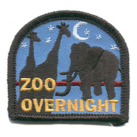 S-1405 Zoo Overnight Patch
