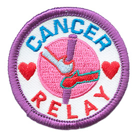 S-1428 Cancer Relay Patch