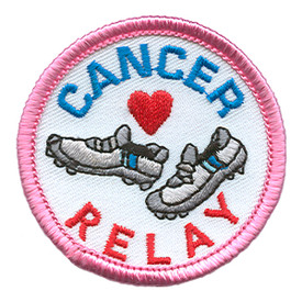 S-1432 Cancer Relay (Shoes) Patch