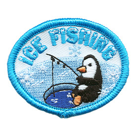 S-1433 Ice Fishing (Penguin) Patch