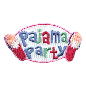 S-1445 Pajama Party - Slippers Patch