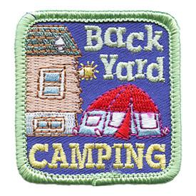 S-1447 Backyard Camping Patch