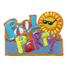 S-1449 Pool Party Patch