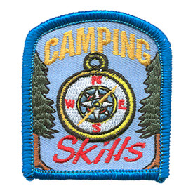 S-1450 Camping Skills Patch