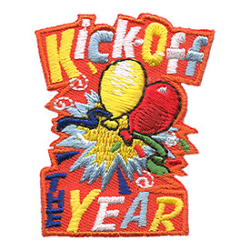 S-1456 Kick-Off The Year Patch