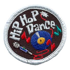 S-1458 Hip Hop Dance (Circular) Patch