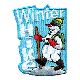S-1460 Winter Hike (Snowman) Patch